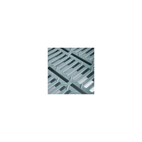Rejilla plástico Premium 500 x 600 mm normal con 10mm de apertura