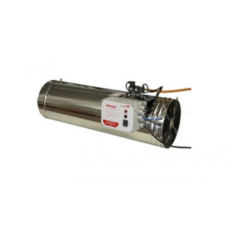 Cañones de gas de acero inoxidable de 80 KW