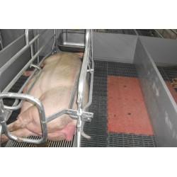 Separaciones PVC herrajes inox