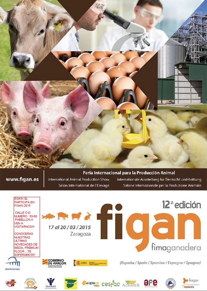 Egain participa en FIMA GANADERA, FIGAN 2015, del 17 al 20 de Marzo